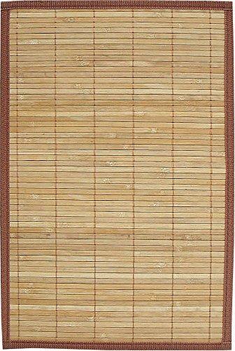 Avanti Trendstore Tappeto in bambù color legno. ca. 120 x 180 cm