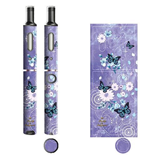 電子たばこ タバコ 煙草 喫煙具 専用スキンシール 対応機種 プルームテックプラスシール Ploom Tech Plus シール Lovely & Gorgeous 19バタフライ 22-pt08-ca0635