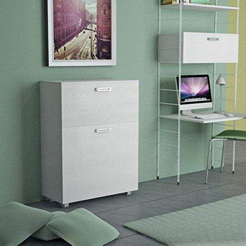 Mueble que se transforma en una cama individual, con somier de láminas...