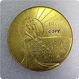 liangsen Tpye # 61Medalla Conmemorativa Rusa Copia Monedas conmemorativas-réplica de Monedas Medalla Monedas coleccionables