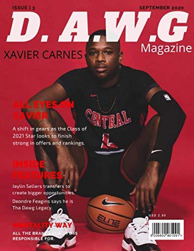 D.A.W.G. Magazine: September 2020: Xavier Carnes