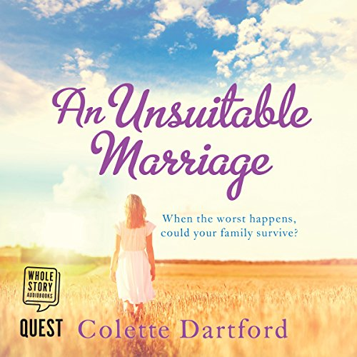 An Unsuitable Marriage audiobook cover art