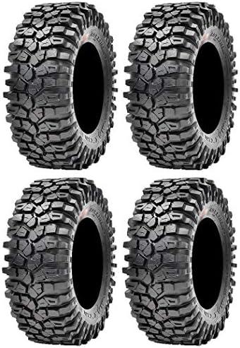 Full set of Maxxis Roxxzilla 396 Radial (8ply) ATV Tires 32×10-14 (4)
