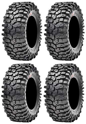 Full set of Maxxis Roxxzilla 396 Radial (8ply) ATV Tires 32x10-14 (4)