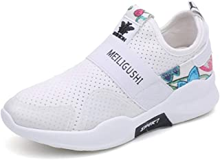 KINDOYO Womens Trainers - Breathable Wear-Resistant Soft Sole Slip-on Casual Walking Shoes