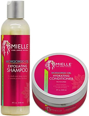 Mielle Organics Mongongo Oil Shampoo Conditioner Set product image