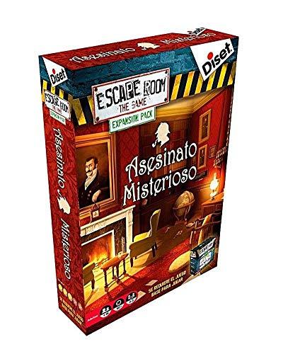 Escape Room: the game. Expansión - Asesinato misterioso (Diset)