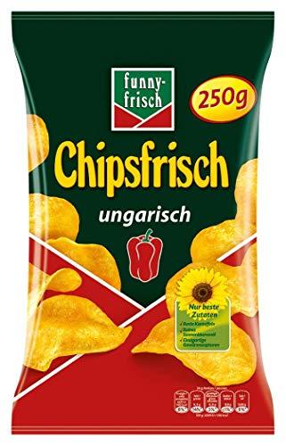 funny-frisch Chipsfrisch ungarisch, 15er Pack (15 x 250 g)