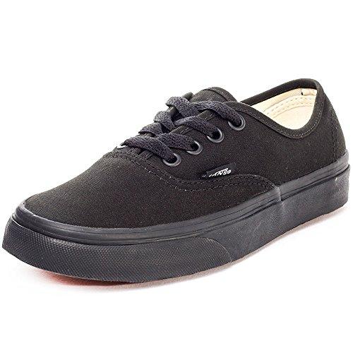 Vans Authentic, Zapatillas de Tela Unisex, Negro (Black/Black), 39 EU