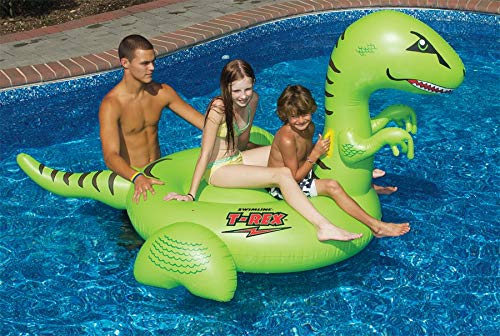 Lowest Prices! Swimline T-Rex Giant Ride On
