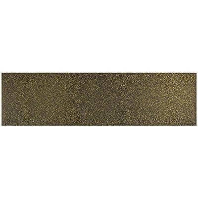 Black Diamond 9x33 Gold Glitter (Single Sheet)