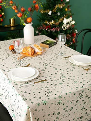 XXDD Moderno Simple Estampado en Caliente Mantel de impresión rectángulo Simple Banquete decoración Cubierta Toalla Fiesta de Punto Navidad A4 140x160cm