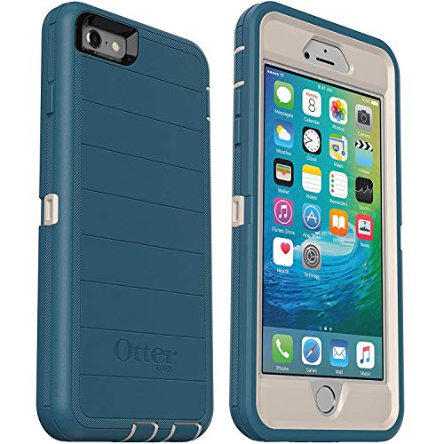 OtterBox Defender Series Rugged Case for iPhone 6s & iPhone 6 (NOT Plus) Case Only - Non-Retail Packaging - Black - with Microbial Defense