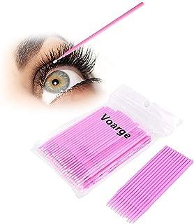 VOARGE 200 stuks wegwerp-microborstels, wimperborstel, wegwerpmicroborstel, voor wimperverlenging, wimperverlenging, lijm ...