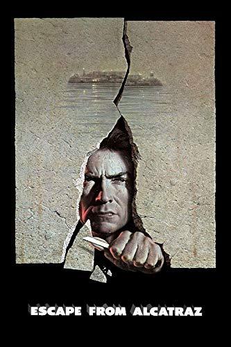 lcyab 1000 Pezzi di Puzzle Classici, Regali di Compleanno-Fuga dai Poster dei Film di Alcatraz-Giochi Antistress, Puzzle in Legno di Dimensioni 75X50Cm