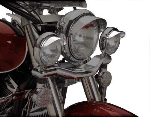 "Show Chrome Accessories (1-229 4-1/2"" Spot Light Visor"