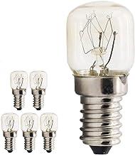 E14 Small Edison Screw Base, Oven Light Bulbs up to 300 Degrees, Tungsten Light, 15W Incandescent Bulb, 2700K Warm White, ...