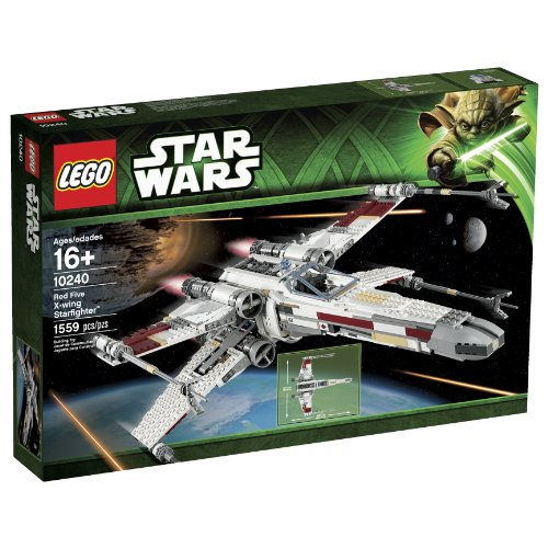 LEGO Star Wars 10240 Red Five X-Wing Starfighter Building Set (Discontinued by Manufacturer) by