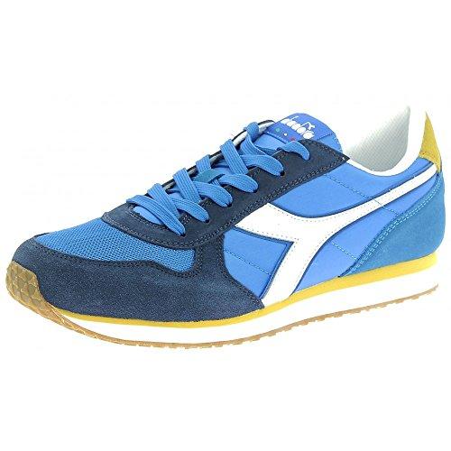 Diadora Malone Scarpe Sportive Uomo Blu Azzurre (45 eu)