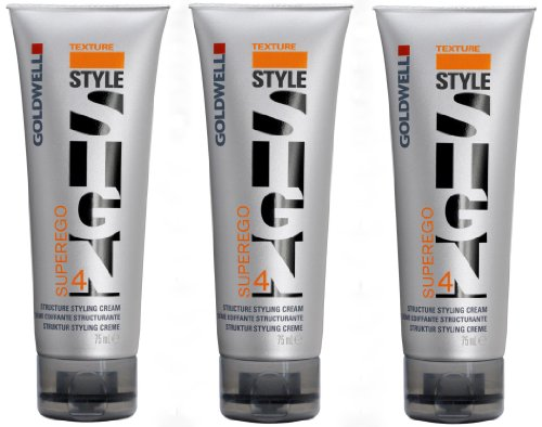 Goldwell Superego 3 x 75 ml Style Sign Texture GW Struktur Styling Creme