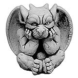 gartendekoparadies.de Massive Steinfigur Lustier Gargoyle Motiv II Torwächter Gartendeko aus Steinguss frostfest