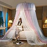 Mosquitera Cama, Mosquitera Cama Matrimonio,Universal Dome Malla de mosquitera,Adecuado para Camas Individuales y Dobles - Decoración del Dormitorio
