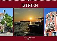 Istrien - Die Perle an der Adria (Wandkalender 2022 DIN A2 quer): Erleben Sie die kroatische Halbinsel Istrien (Monatskalender, 14 Seiten )