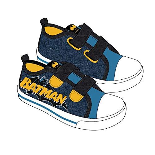 Cerdá Jungen Zapatilla Loneta Baja Batman Hohe Sneaker, Blau Blau C04, 26 EU