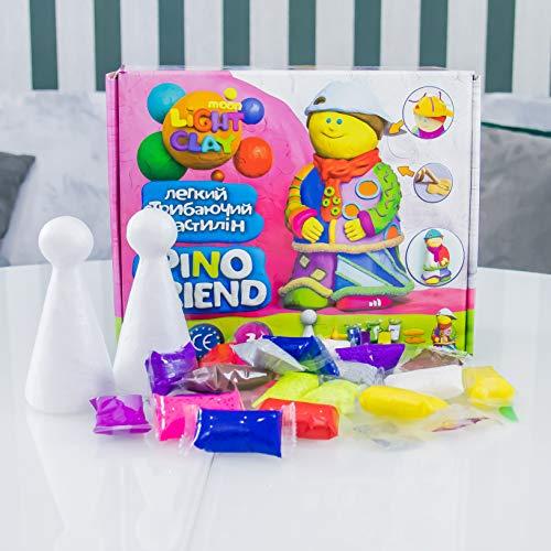 Plastilina modelada 70038 Soft Knete Pino Friend Jackson Niños Juguetes Idea Regalo Adecuado para niñas y niños mayores de 3 años