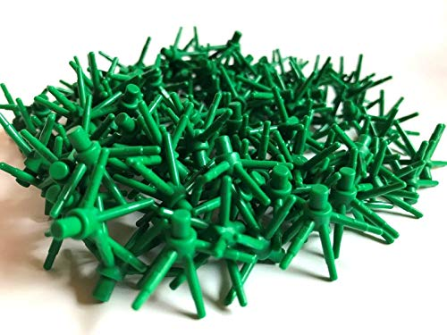 LEGO ® 100 grüne Pflanzen / Blumen / Sterne grün 6er