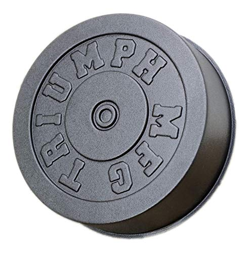 Triumph MFG | 25-45 LB Concrete Weight Plate Molds, Mold for DIY Olympic Barbell Weights