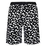 Pantalones Cortos de baño de 5 Pulgadas para Hombre Troncos de natación Pantalones Cortos de Playa con Estampado 3D Boardshorts para Verano A-6 XXL