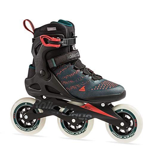 Learn More About Rollerblade Macroblade 110 3Wd Men's Adult Fitness Inline Skate, Teal Green/Orange ...