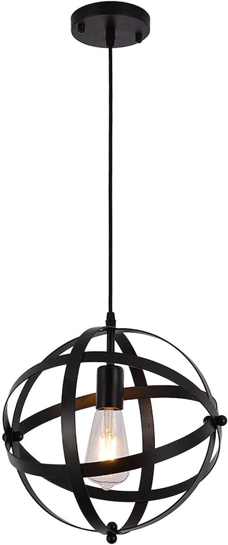 Industrial Metal Pendant Light Hanging Spherical Oklahoma City Max 85% OFF Mall Globe US