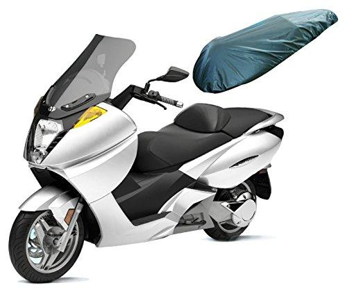 Coprisella Impermeabile Universale Maxi Scooter Moto Copertura Sella Nero XL