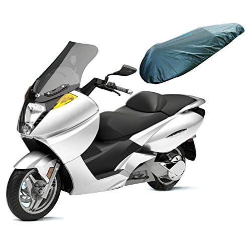 A-Pro - Coprisella Universale per moto, in Nylon, impermeabile, colore: nero, taglia: L