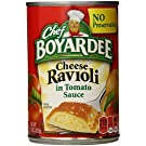 Chef Boyardee Cheese Ravioli in Tomato Sauce, 15 oz, 12 Pack