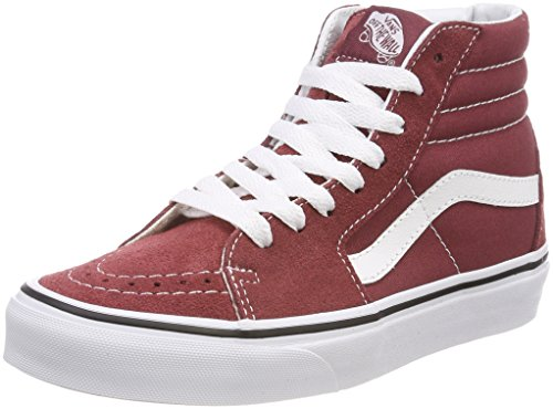 Vans Sk8-hi, Zapatillas Altas Unisex Adulto, Rojo (Apple Butter/True White Q9s), 36.5 EU