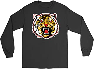 Official NCAA Grambling State University Tigers - PPGST03 Mens/Womens Boyfriend Long Sleeve Tee