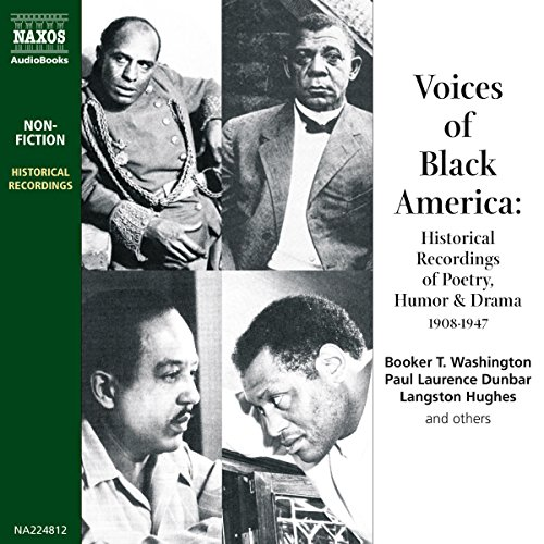 Voices of Black America audiobook cover art