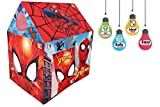 iToys Inc. Marvel Spiderman Play Tent House for Kids, 3-8 Years (Multicolour)