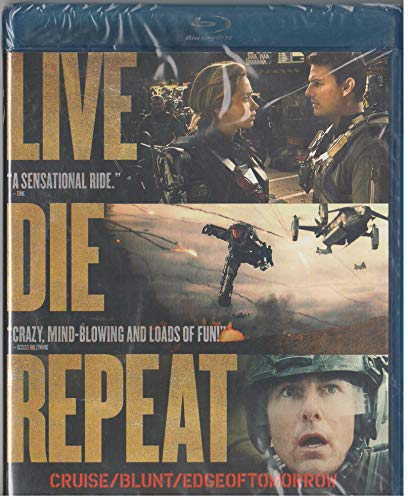 Live Die Repeat: Edge of Tomorrow (Blu-ray + DVD) by Warner Home Video