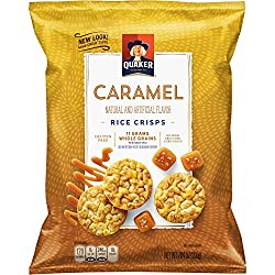 Quaker Rice Crisps, Caramel Corn, 7.04 oz Bag