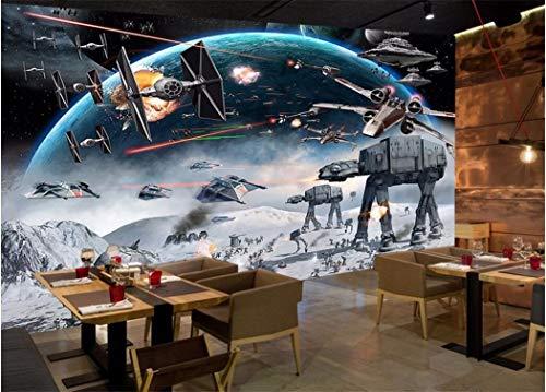 Papel Pintado Mural Personalizado Foto 3D Papel Tapiz De Dibujos Animados Shock Star Wars Imagen Decoración De La Habitación Pintura Murales De Pared 3D Papel Tapiz