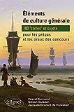 Éléments de culture générale - 100