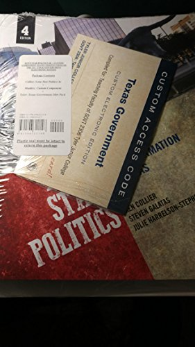 Lone star politics 4th edition Package