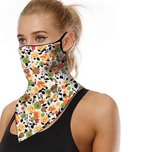 Dantazz Face Shield - Pañuelo multifunción para motocicleta, protector bucal para hombre y mujer (D1)