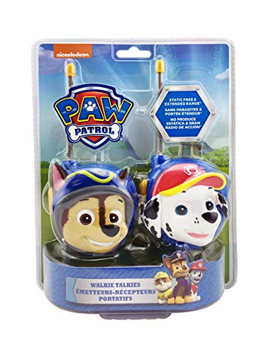 Paw Patrol New Walkie Talkies - Set…
