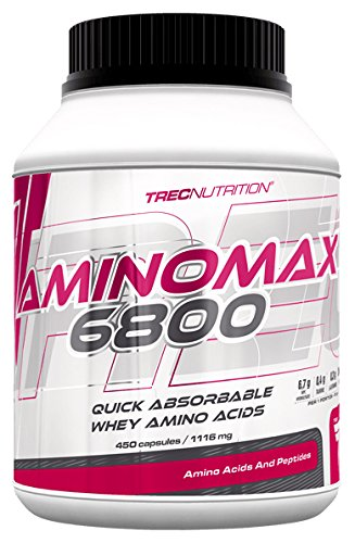 Trec Nutrition MAX 6800 Amino Acids Capsules, Pack of 30