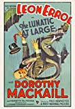 The Lunatic at Large Movie Poster (27,94 x 43,18 cm)